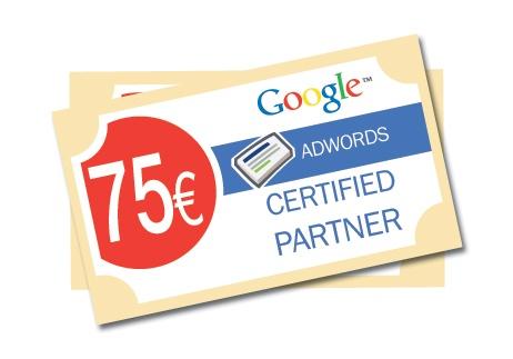 Gratis Google AdWords tegoed t.w.v. €75,-