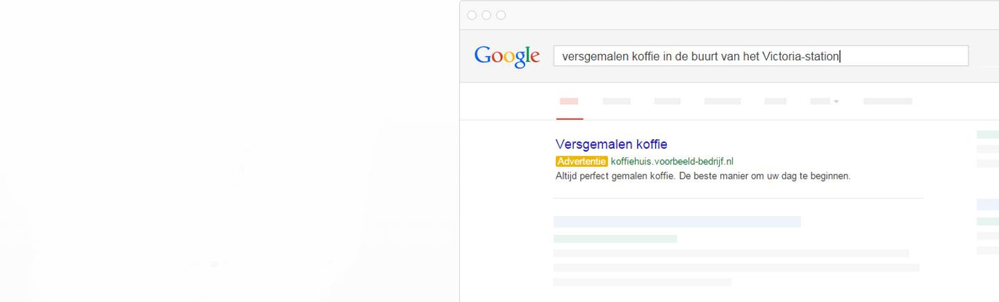 Zet uw advertentie nu op Google