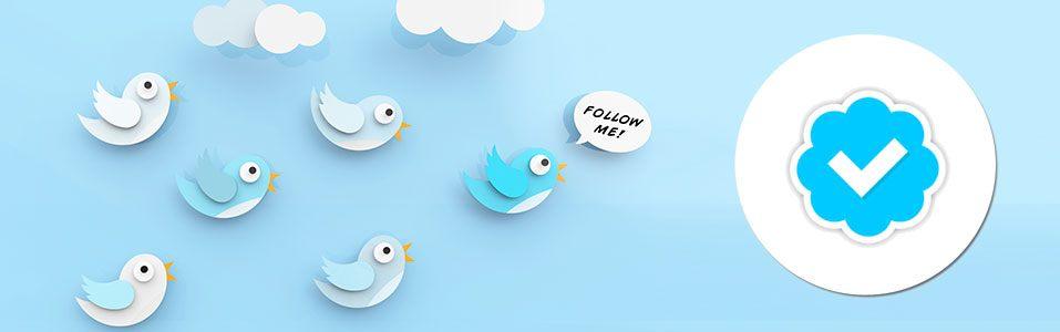 Blauw vinkje voor iedereen beschikbaar op Twitter