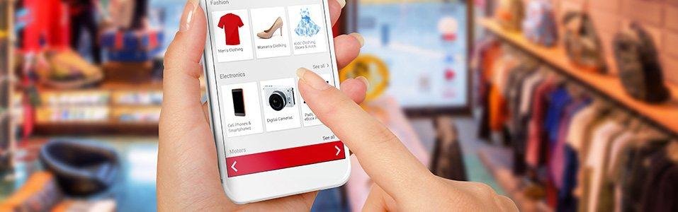 Flinke groei omzet webwinkels
