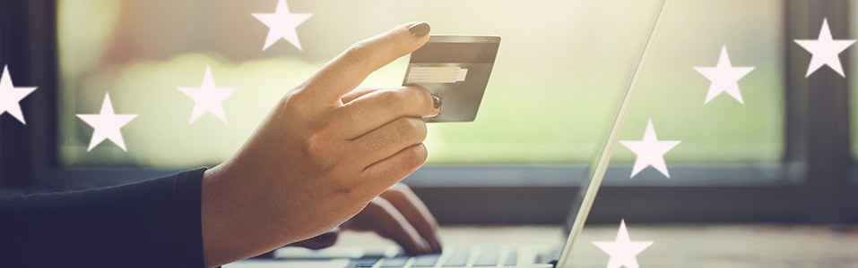 Europees vertrouwen in online winkelen stijgt.