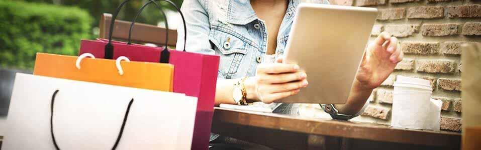 Online winkelen blijft aan populariteit winnen.