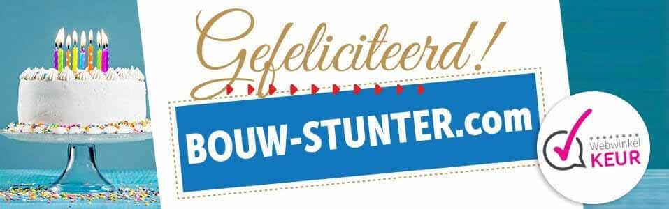 WebwinkelKeur voor Bouw-stunter.com