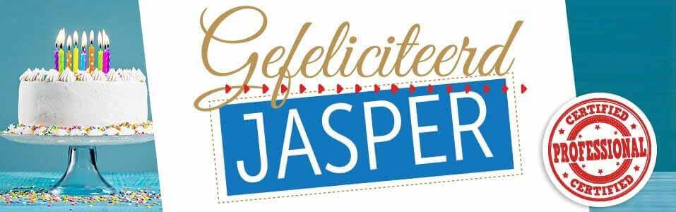Jasper is geslaagd!