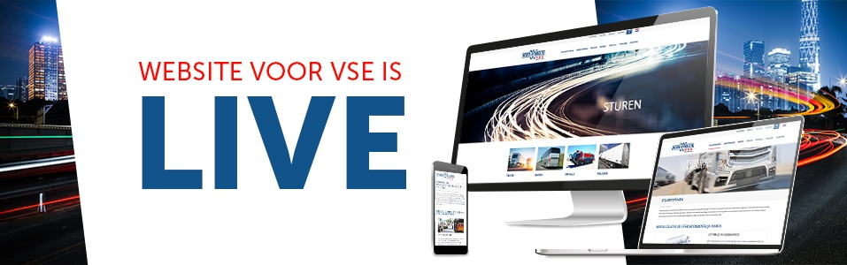 De website voor VSE is LIVE!