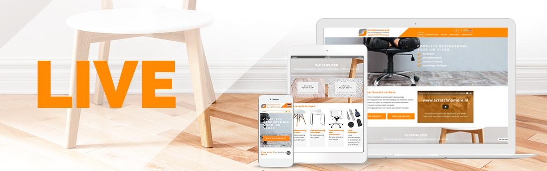Nieuwe webwinkel voor Scratch No More!