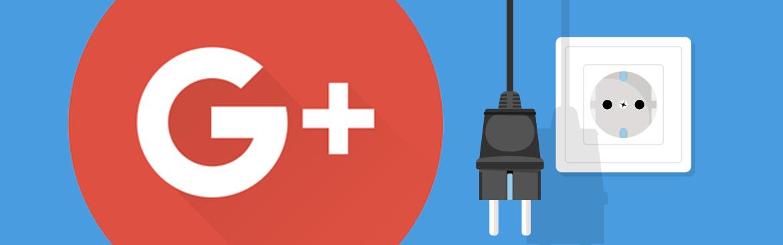Google trek stekker uit Google+