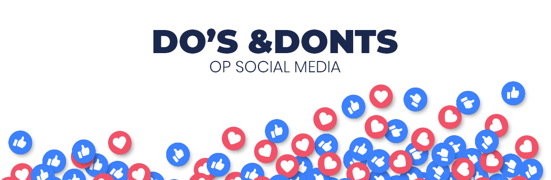 Do's & Dont's op social media