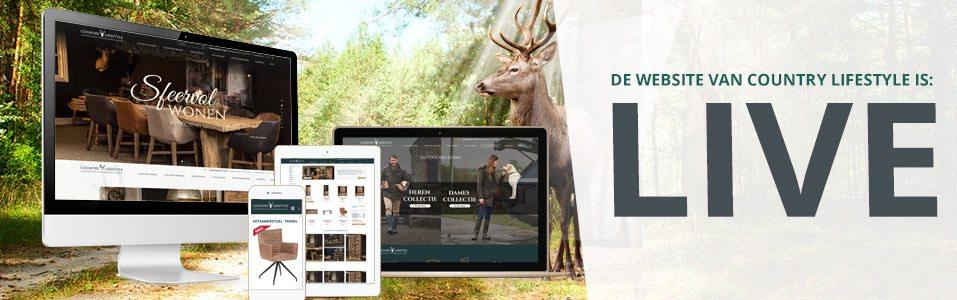 Nieuwe website voor Country Lifestyle