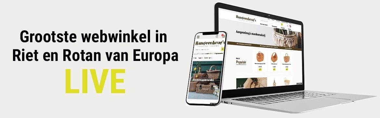 Nieuwe webshop voor detailhandel LIVE