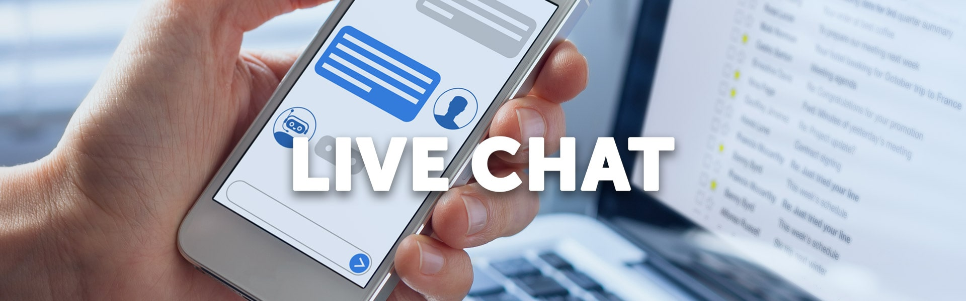 Live chat op jouw website