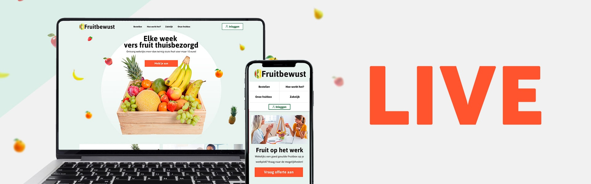 Fruitbewust staat live!