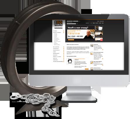 Internationale webwinkel voor industriële producten