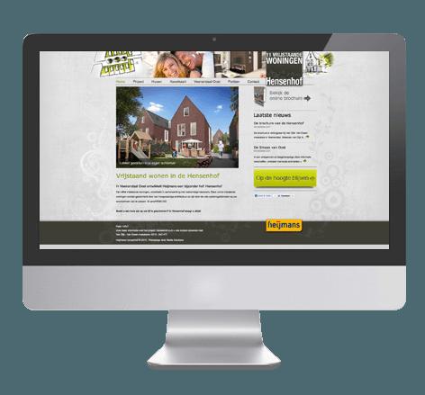 Webdesign voor Heijmans Vastgoed