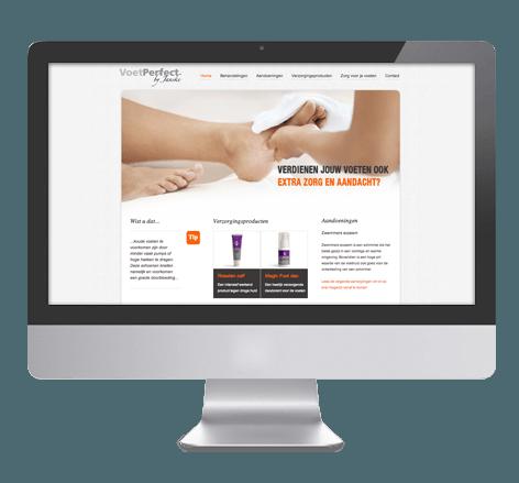 Informatieve website voor VoetPerfect