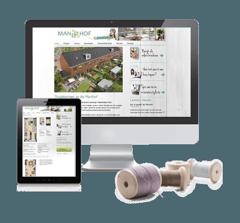 Moderne website voor Heijmans Vastgoed