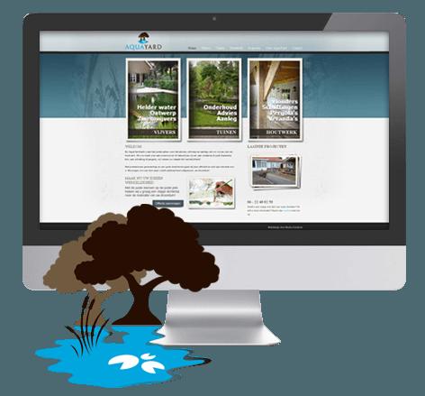 Huisstijl en webdesign voor hovenier