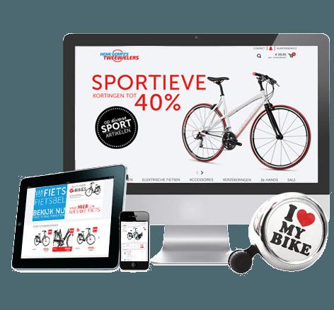 Webwinkel voor fietsen