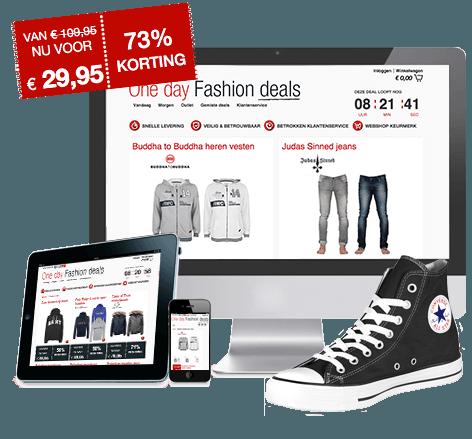 Trendy en commerciële webwinkel