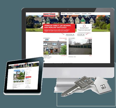 Webdesign voor Mercari Vastgoed