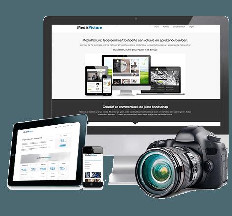 Portfolio website MediaPicture