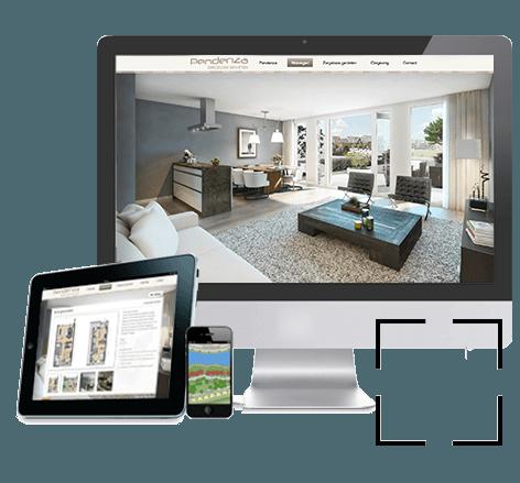 Webdesign voor nieuwbouw project