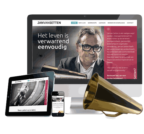 Webdesign Jan van Setten (Topspreker!)