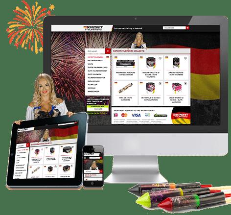 Webwinkel Export Feuerwerk