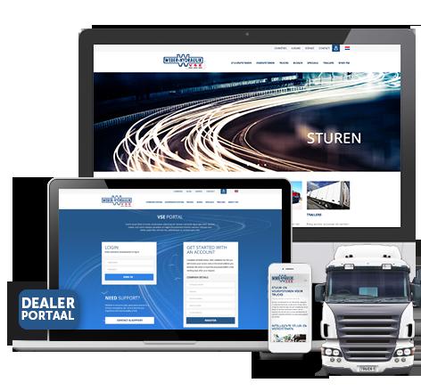 Innovatieve website voor VSE
