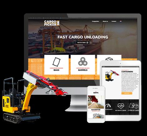 Corporate identity CargoPicker