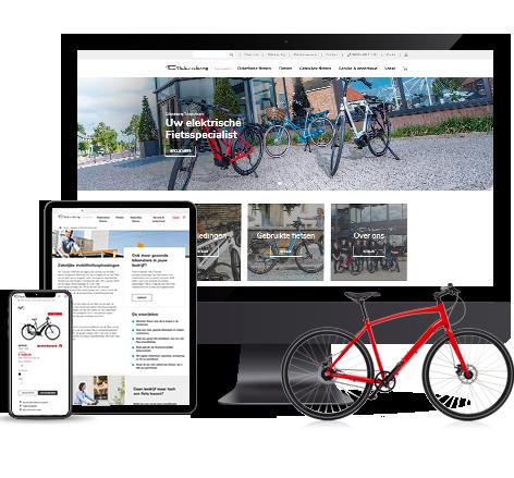 Nieuwe webwinkel Dikkenberg Tweewielers
