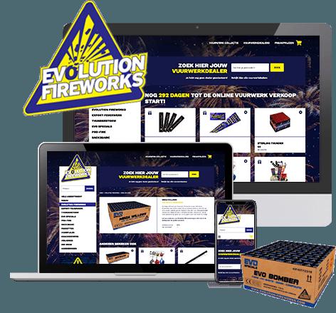 Webwinkel Evolution Fireworks