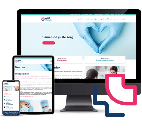 Website development voor zorgverlener