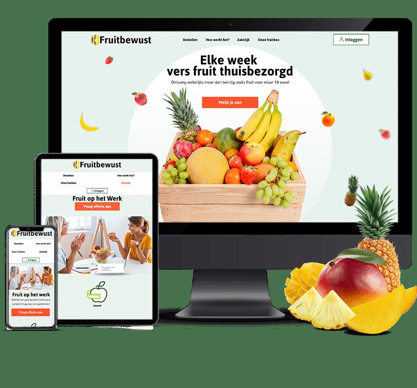Webshop voor Fruit abonnement