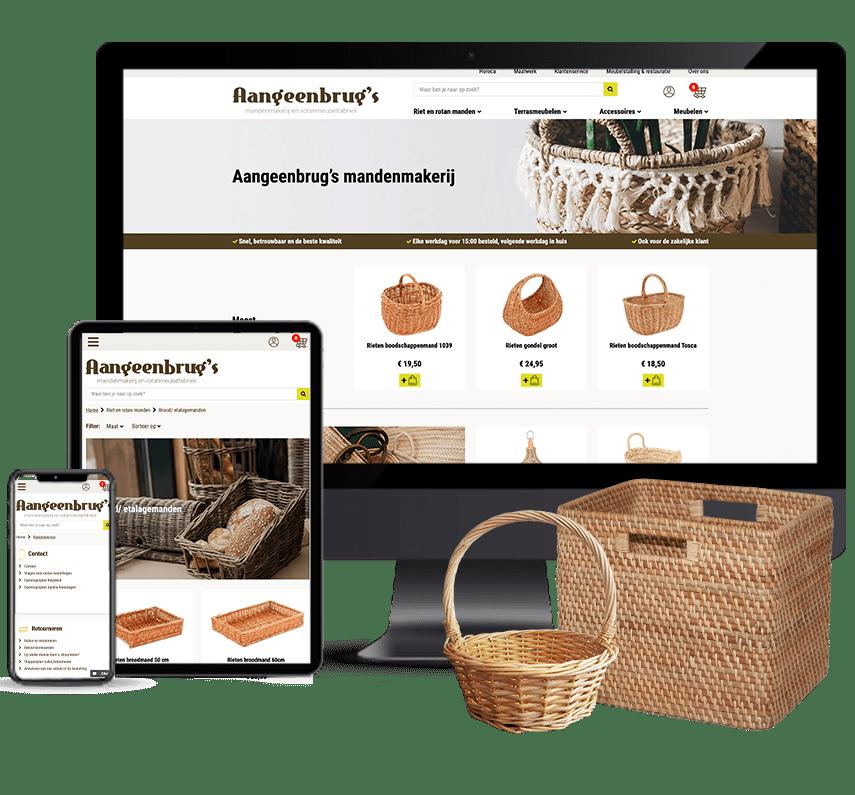 Webshop voor detailhandel